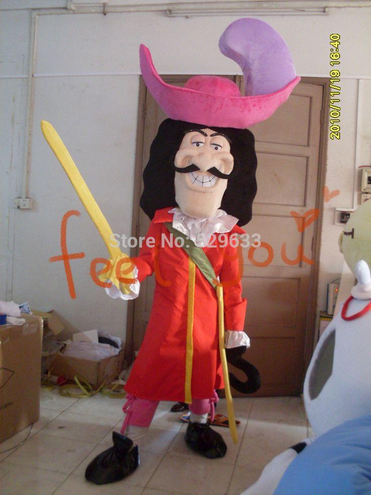 Новые костюмы для взрослых плюш капитан крюк костюм талисмана дора elmo барни doraemon котенок мультфильма костюмы ну вечеринку