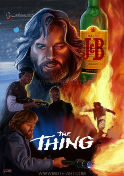 John Carpenter's The Thing. On my top 10 Best Horror Movies List.