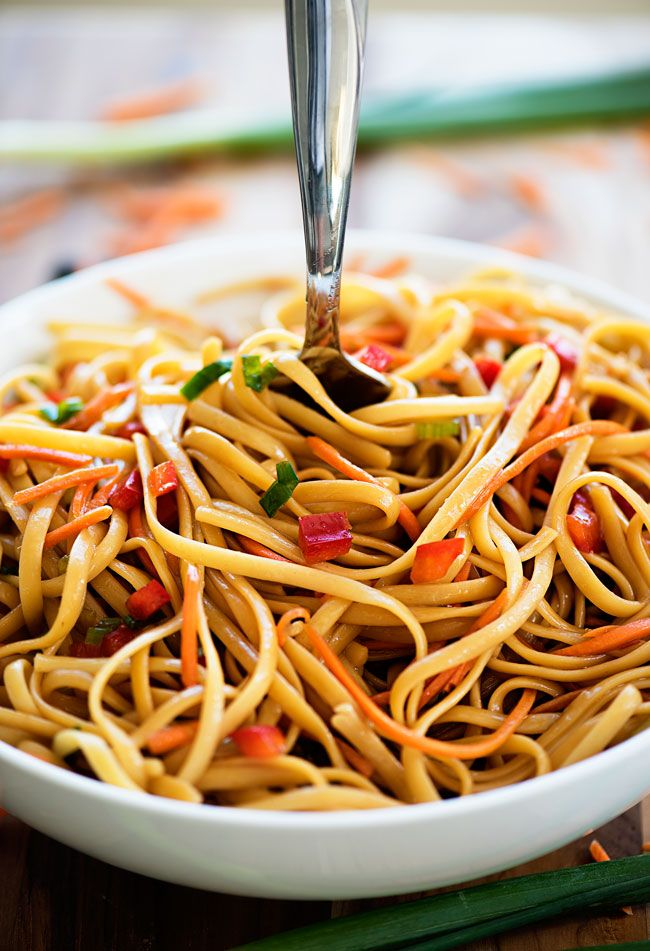 I'll never forget the first time I tried this ASIAN PASTA SALAD. My friend Jami brought it to one of our book club girls nights and I fell in-love at first bite.  After I was finished with my second helping I begged Jami for the recipe. I needed this recipe in my life asap! …