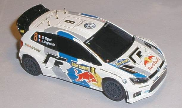 Scalextric car C3525 VW Polo R WRC for sale