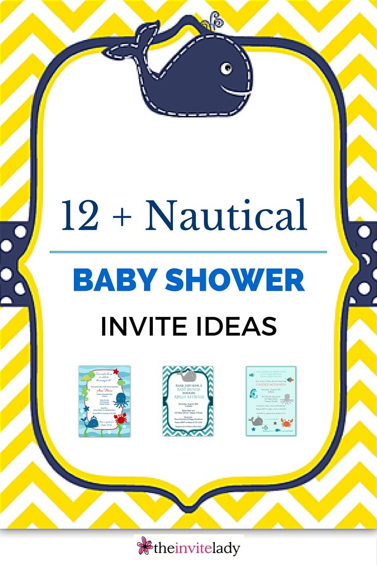 nautical white rustic rectangle invitations blue invitation navy shower and whale baby