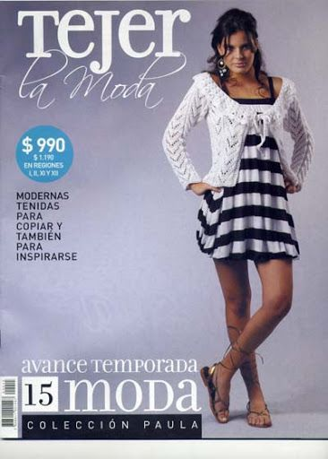 Revista Tejer la Moda nº15 - Paula Chumpitaz - Picasa Webalbumok
