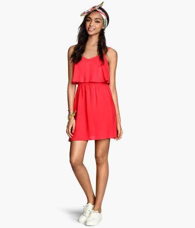 Sleeveless dress #dress #women #covetme #h&m