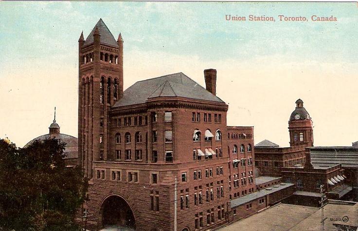 Union Station, Toronto, Ontario ca. 1910