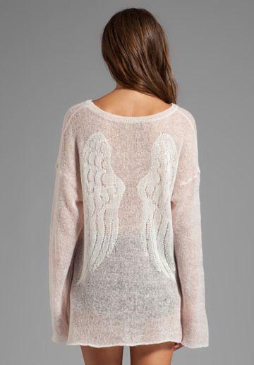 guardian angel sweater