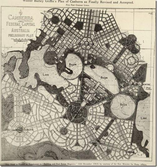 Canberra city plan