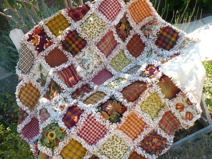 23 best rag rug quilts images on Pinterest | Rag rugs, Rag quilt ... : rug quilt - Adamdwight.com