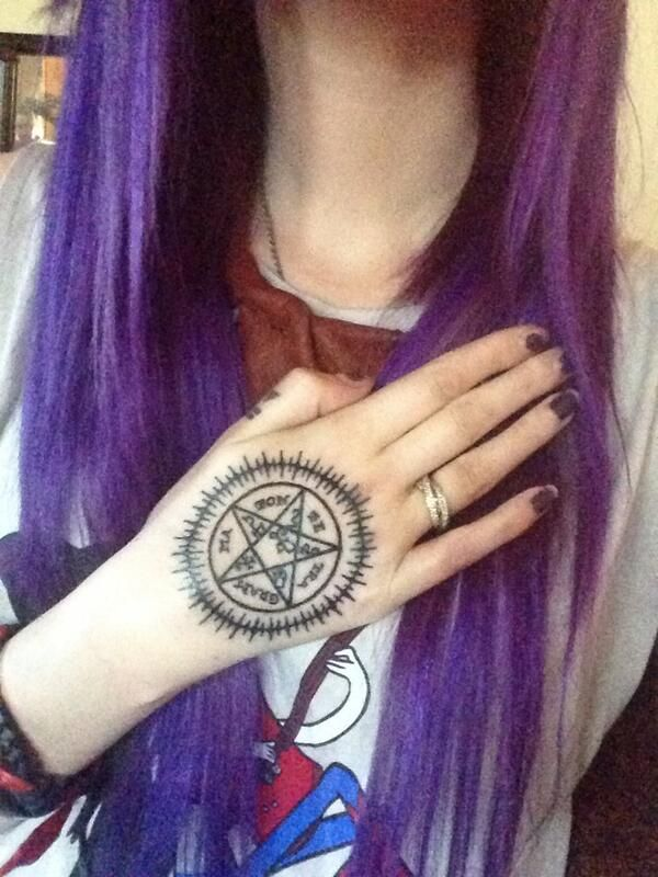 Her Black Butler tattoo is perfection