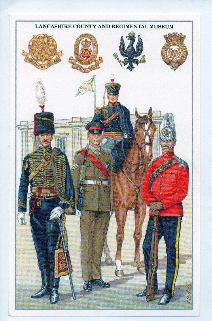 #GWS/M166 Lancashire County And Regimental Museum- Military Postcard | eBay