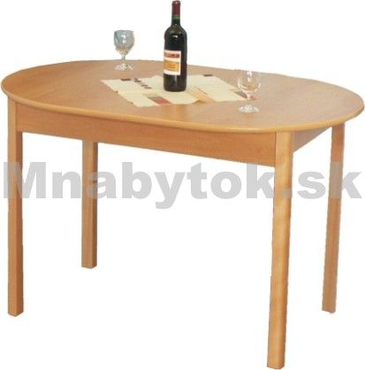 Jedálenský rozkladací stôl R2 ovál