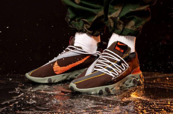 Ligeramente Celo Instrumento  Nike React WR ISPA Low Velvet Brown Arriving This Weekend | Air Jordan  Release Dates | Mens nike shoes, How to make shoes, Nike