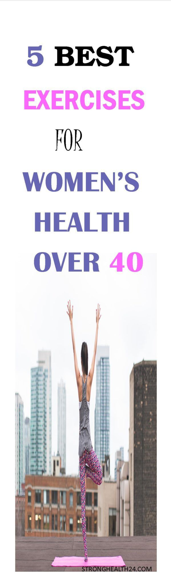 Best Exercises for Women's Health over 40