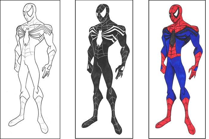 Spiderman 2099 Coloring Pages Spiderman Coloring Superhero Coloring Cartoon Coloring Pages