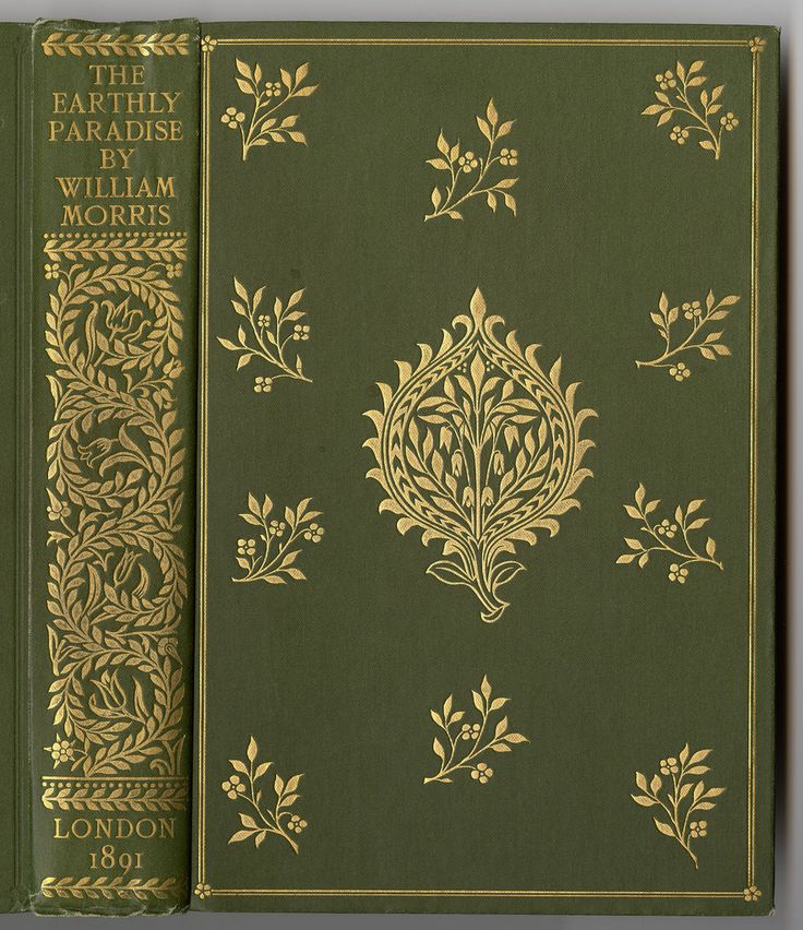 By William Morris. Reeves and Turner, 1890.  Binding design by William Morris