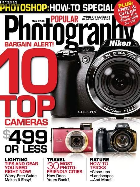 Popular Photography is a industry leading authority - providing readers with information on state-of-the-art technology and trend-setting techniques. http://www.tripleclicks.com/14818999/detail.php?item=4907
