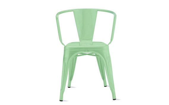 LOOK at this color!!! LOVE it!!! Tolix Marais A56 Armchair