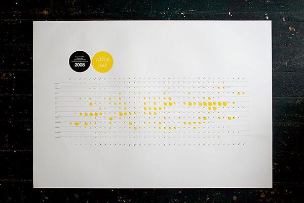 A calendar on Behance