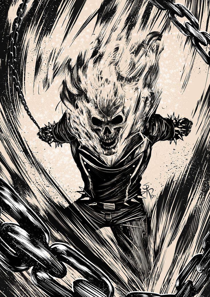 Ghost Rider on Behance