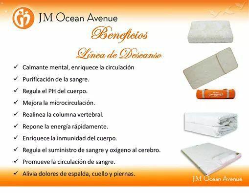 Beneficios de la linea de deacanso JM oCean Avenue