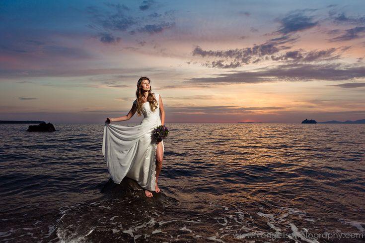 Санторини фотографии свадьбы