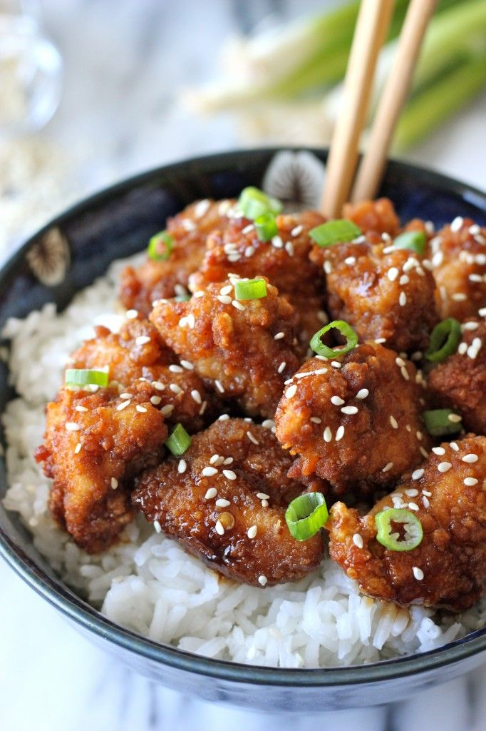 Sesame Chicken.