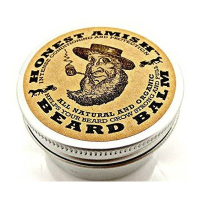 Honest Amish Beard Balm is the best beard balm of 2016. It helps your beard grow and gives it great conditioning, and smells great. ~ http://ever-unfolding.net/best-beard-balm-reviews/