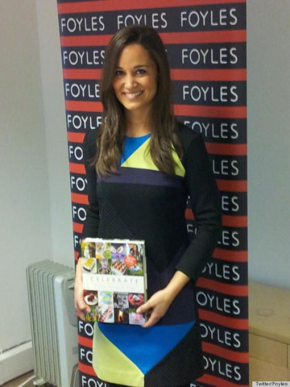 PHOTOS: Pippa Middleton Debuts Her Party Book, Changes 3 Times