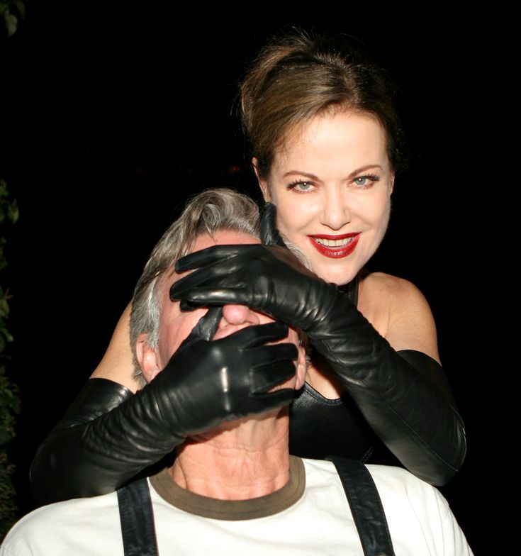 Leather Glove Fetish 92