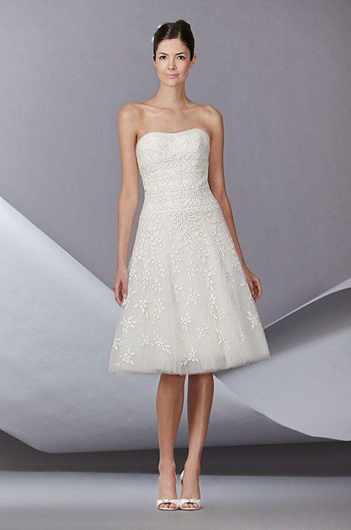 The 237 best Short Wedding Dresses images on Pinterest | Wedding ...