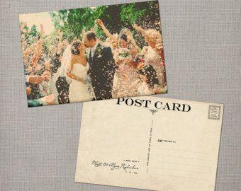 Hochzeit danke Karten / Danke Grußkarten / von NostalgicImprints