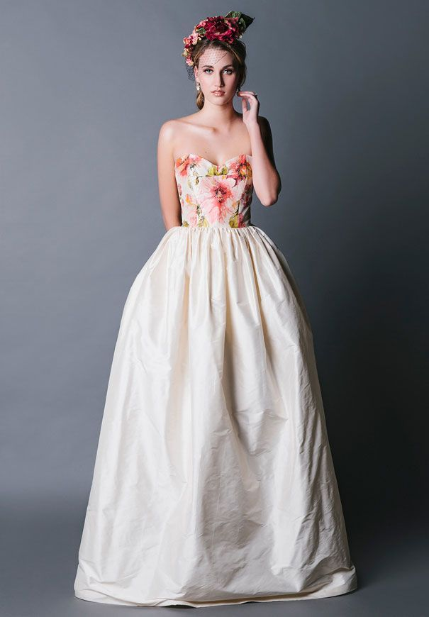 20 Floral Wedding Dresses That Will Take Your Breath Away - Jennifer Gifford