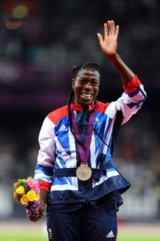 Christine Ohuruogu wins silver for #TeamGB! #Olympics #competition #sportevent #profollica #athlete #sports