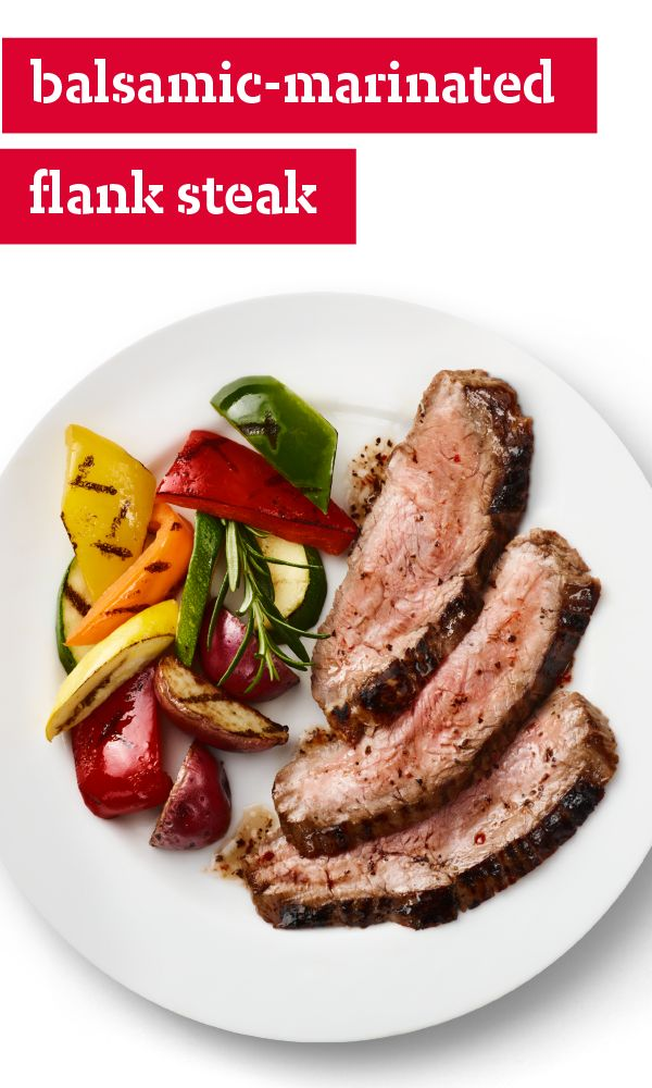 Balsamic-Marinated Flank Steak – A long marinade in balsamic ...