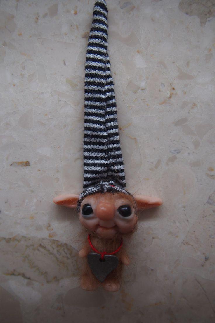 OOAK fantasy art doll Mini troll gnome FELEK 3 by muyestillo