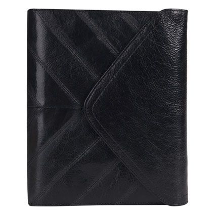 Classic Alexandria Leather Binder- classic and charming