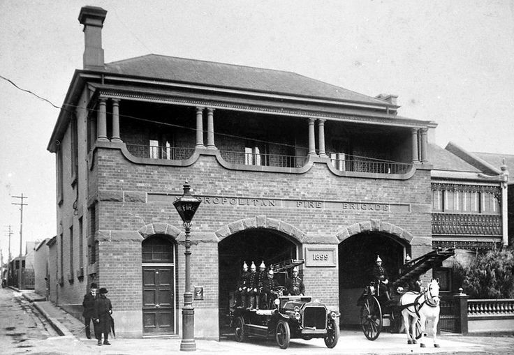 Fire Station. George St. 1914