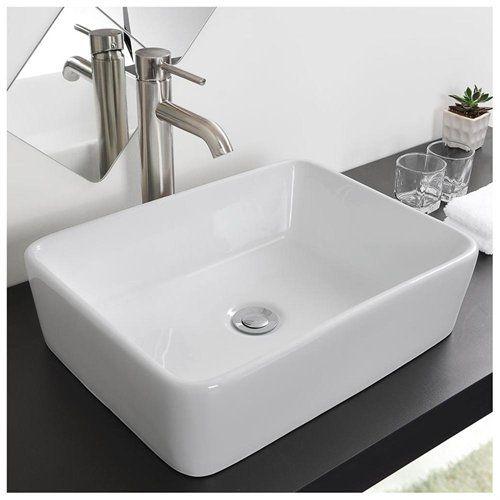 101 best images about master bath on pinterest art deco for Master bathroom vessel sink