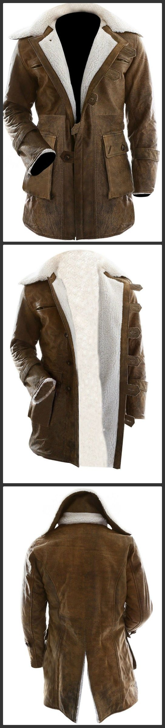 Christmas Special Offer!!! Our online store brings this Christmas outstanding outer apparel for all Men and Boys. This is Dark Knight Rises Bane Leather Coat carry by super star Tom Hardy as Bane in the movie. The outfit is made with 100% Real Leather with soft lining inside. Place your order now and get at amazing price.