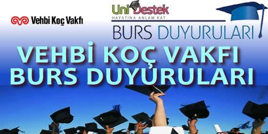 Vehbi Koç Vakfı Üniversite Bursları  http://unidestek.net/vehbi-koc-vakfi-universite-burs-basvurusu/