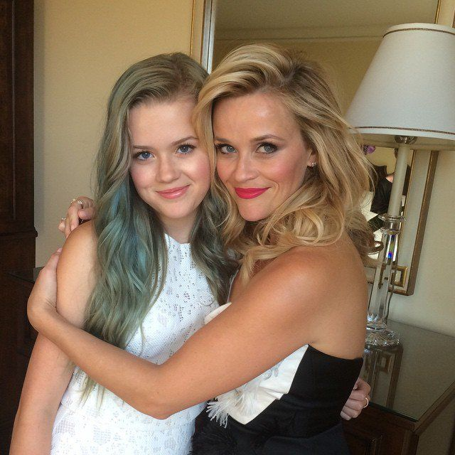 Pin for Later: Reese Witherspoon's 15-Year-Old Daughter, Ava Phillippe, Is Basically Her Twin