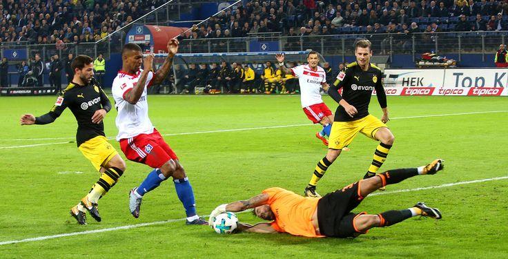 3:0 gegen HSV: Dortmund bleibt Tabellenführer - Borussia Dortmund bleibt Tabellenführer der Bundesliga. Gegen chancenlose Hamburger siegte der BVB verdient mit 3:0.