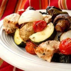 Brochettes de poulet des îles grecques @ qc.allrecipes.ca