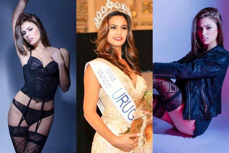 Sherika De Armas crowned Miss Mundo Uruguay 2015