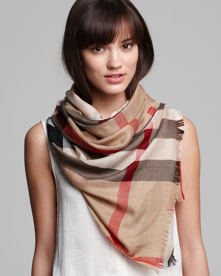 best price burberry scarf