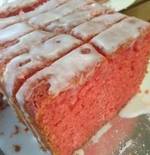 Susan Recipe: Strawberry Pound Cake