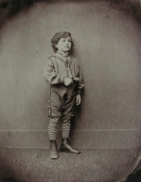 victorian school boy