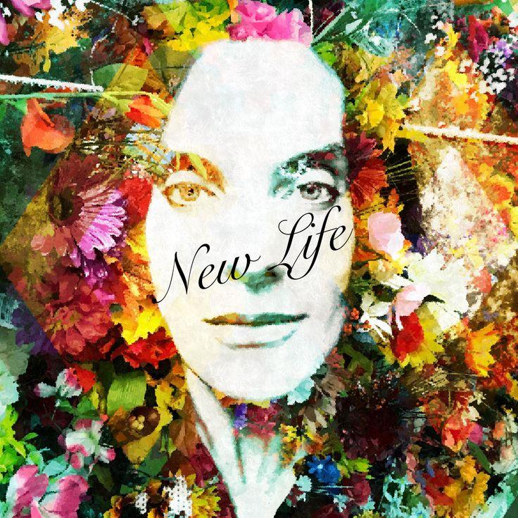 I love to create something special #life #newlife #singer #song #amir #tribal #flowers #face #model #boy #men #jazz #art