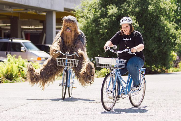 Chewbacca Mom Breaks Record for Most Watched Facebook Live Video & Visits Their HQ