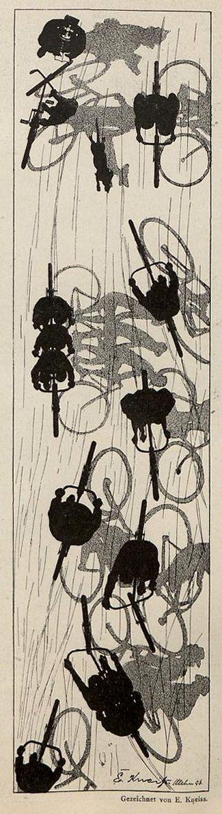 "zombienormal: "" Emil Kneiss, Jugend magazine, 1896. Via. """