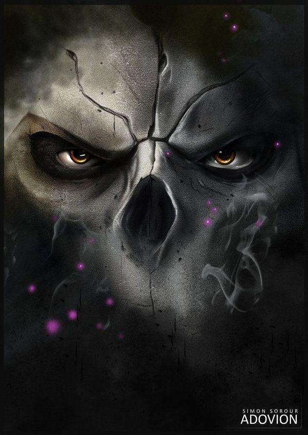Darksiders 2 - Death by *Adovion on deviantART